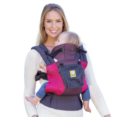 Buy LÍLLÉbaby Complete Airflow Baby Carrier, Charcoal with Berry