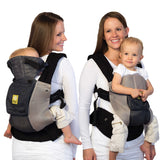 LÍLLÉbaby Complete Airflow Baby Carrier, Charcoal with Silver - Baby Strollers Place