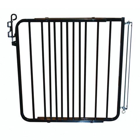 Cardinal Gates Auto-Lock Safety Gate (Black) (Model MG-15) | 015011 - Baby Strollers Place