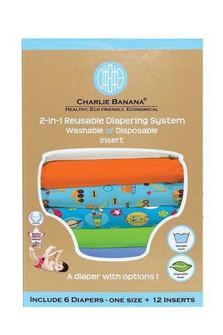 Charlie Banana® 2-in-1 Reusable Diapers (Under Construction)