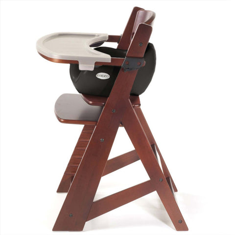 Delicieux Keekaroo Height Right™ Mahogany High Chair With Infant Insert, Tray And  Tray Cover (