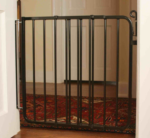 Cardinal Gates AutoLock Pressure Gate (Black) (Model PG-35) - Baby Strollers Place