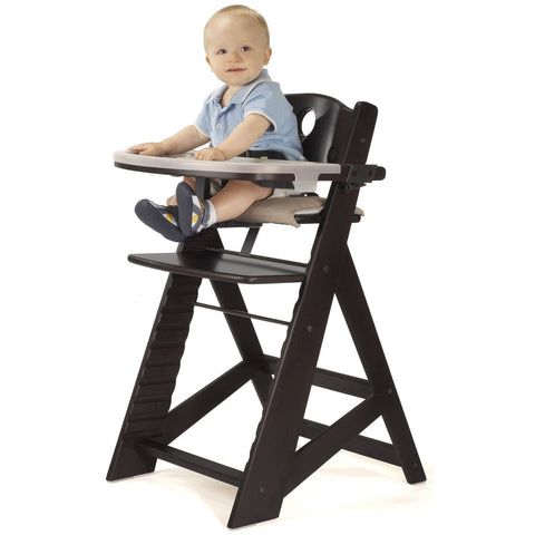 Keekaroo Height Right™ High Chair with Tray (Espresso Color)