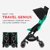 GB Pockit Plus All-Terrain Stroller - Velvet Black
