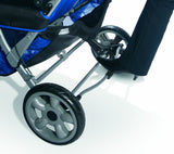 Foundations Quad LX4™ 4-Passenger Stroller, Regatta Blue | 4140037