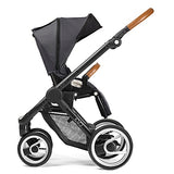 Mutsy Evo Urban Nomad Stroller in Black Frame, Light Grey