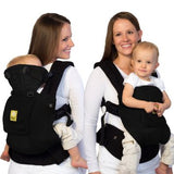 LÍLLÉbaby Original Black Baby Carrier With Pocket | SC-1C-101-P