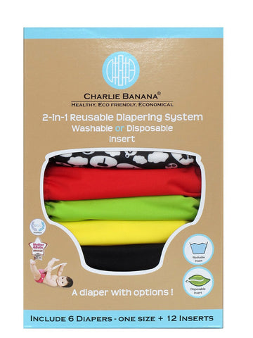 Charlie Banana® 2-in-1 Reusable Diapers (Zooloo)