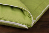 Zcush Cozy Chenille Infant Nap Mat, Googly Green - Baby Strollers Place