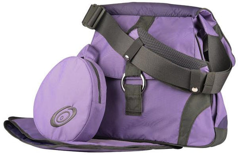 Go-Go Babyz Sidekick Bliss Purple Color Diaper Bag - Baby Strollers Place