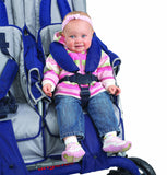 Angeles SureStop Folding Commercial Bye-Bye Quad Stroller (4-Seat) | AFB6600