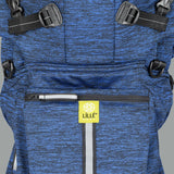 LÍLLÉbaby Pursuit Pro Baby Carrier, Heathered Sapphire - Baby Strollers Place