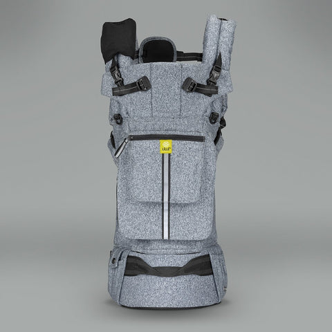LÍLLÉbaby Pursuit Pro Baby Carrier, Heathered Grey - Baby Strollers Place