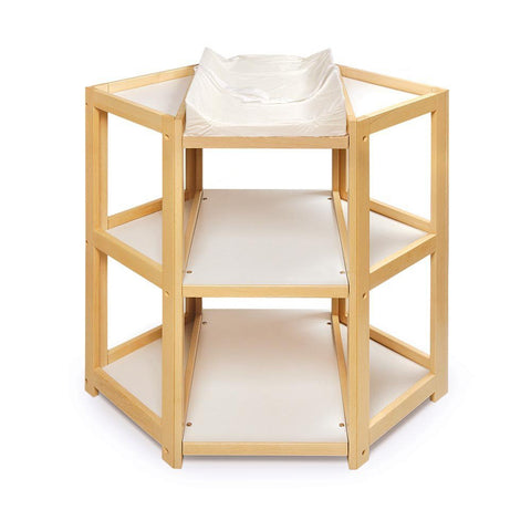 Badget Basket Natural Diaper Corner Baby Changing Table