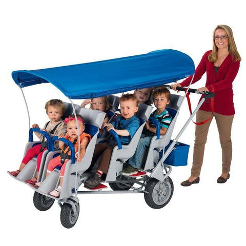 Angeles Runabout 6-Passenger Stroller | AFB6850F - Baby Strollers Place
