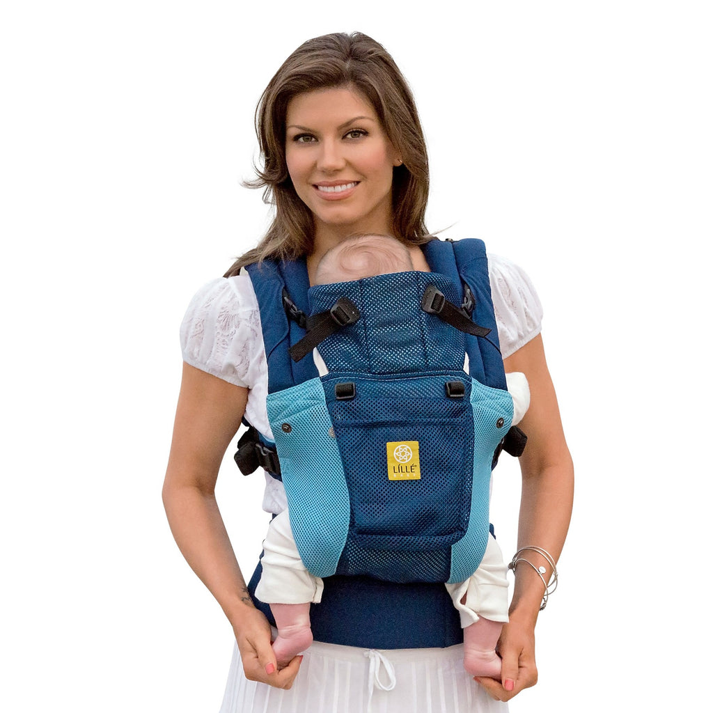Lillebaby Complete Airflow Baby Carrier Blue Aqua