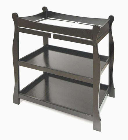 Buy Badger Basket Sleigh Style Changing Table, Black