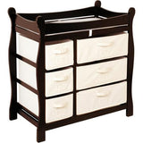 Buy Badger Basket Sleigh Style Changing Table, Espresso