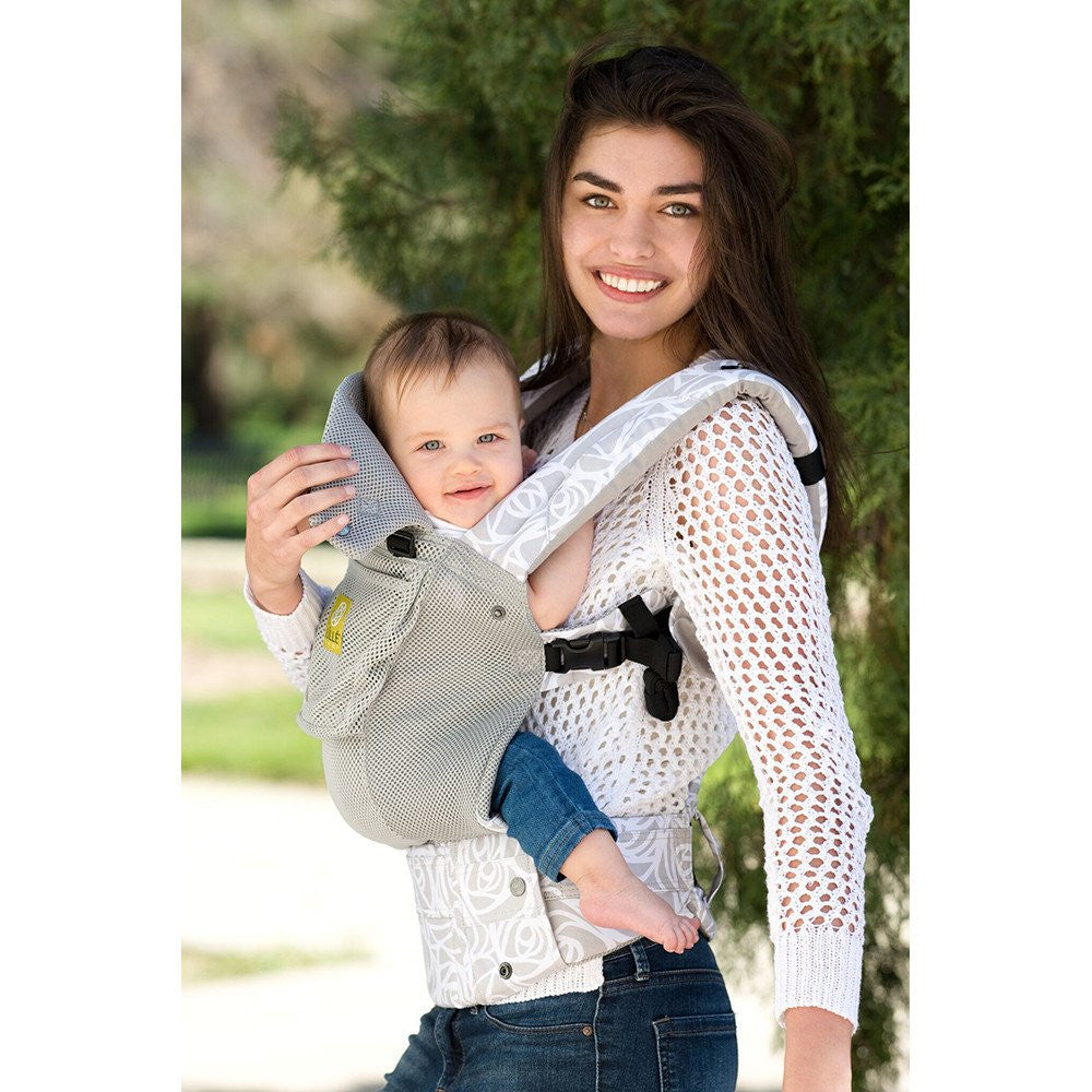LILLEBABY All Seasons Complete Six Position Baby Carrier Frosted Rose Brand New