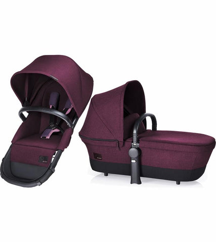 Cybex Priam 2 in 1 Light Seat, Grape Juice - Baby Strollers Place