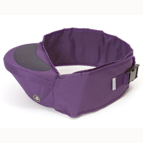 Hippychick Non-slippery Hipseat, Purple - Baby Strollers Place