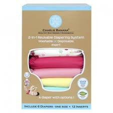Charlie Banana® 2-in-1 Reusable Diapers (Butterfly)