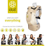 LÍLLÉbaby Complete Airflow Baby Carrier, Champagne
