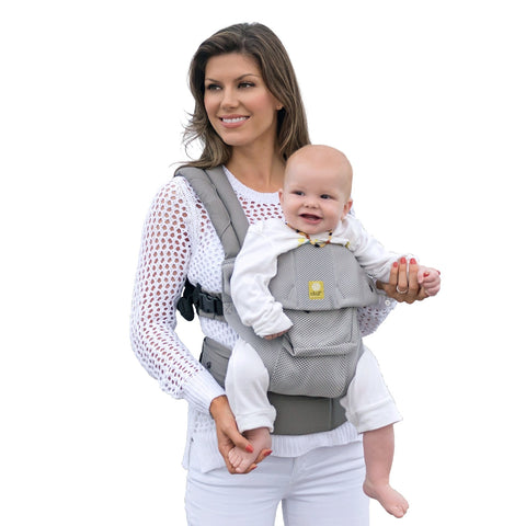 LÍLLÉbaby Complete Airflow Baby Carrier, Mist - Baby Strollers Place