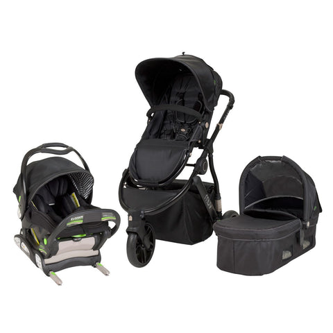 MUV GAAN Travel System, Satin Black - Baby Strollers Place