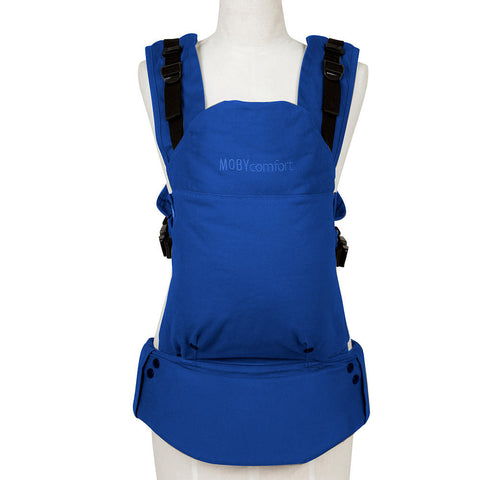 Moby Comfort Baby Carrier (Blue) - Baby Strollers Place