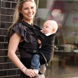 Moby Comfort Baby Carrier (Black)