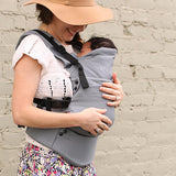 Moby Comfort Baby Carrier (Black) - Baby Strollers Place