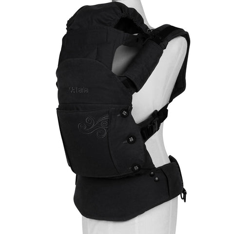 Moby Aria Baby Carrier (Black) - Baby Strollers Place
