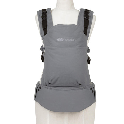 Moby Comfort Baby Carrier (Grey) - Baby Strollers Place