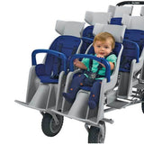 Angeles Runabout 6-Passenger Stroller | AFB6850F - Buy Online