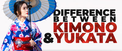 What is the Difference Between Kimono and Yukata?