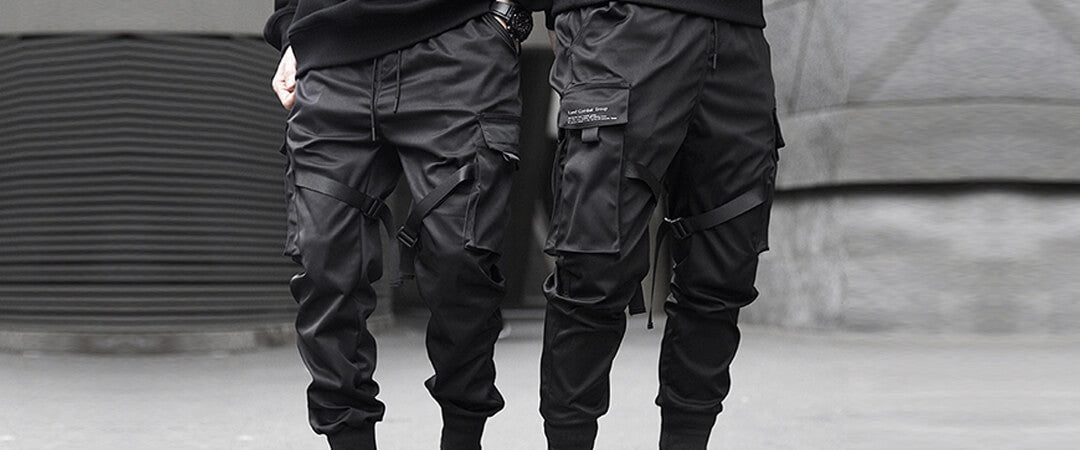 Cargo Pants With Straps