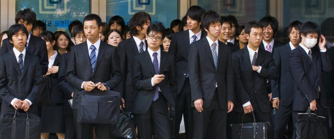 Japanese Employees Clothing Style