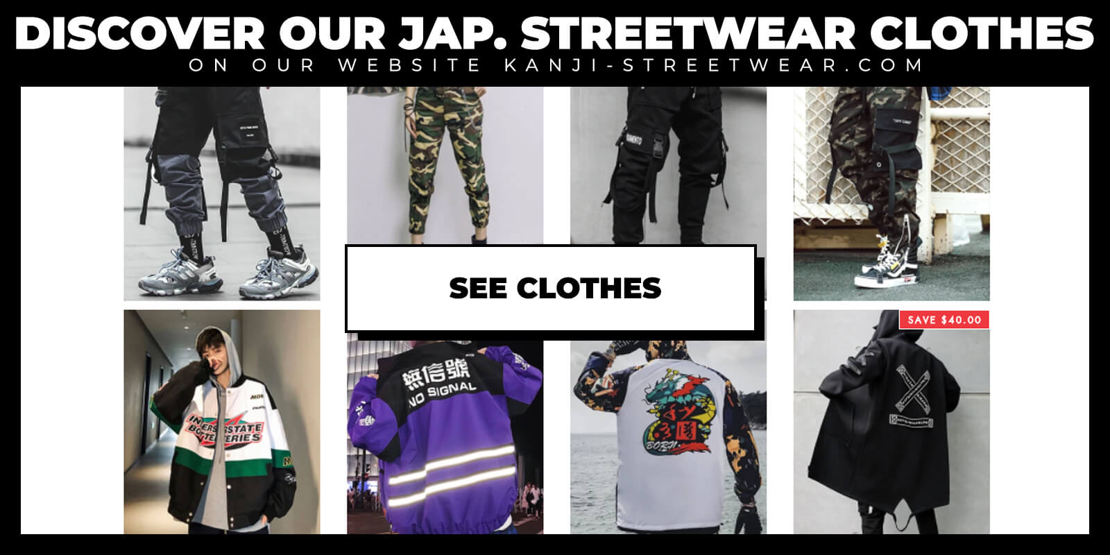 Shop Japanese Streetwear Clothes