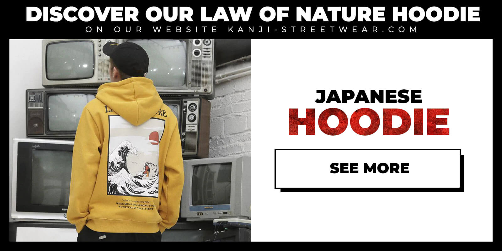 Shop Law of Nature Japanese Hoodie