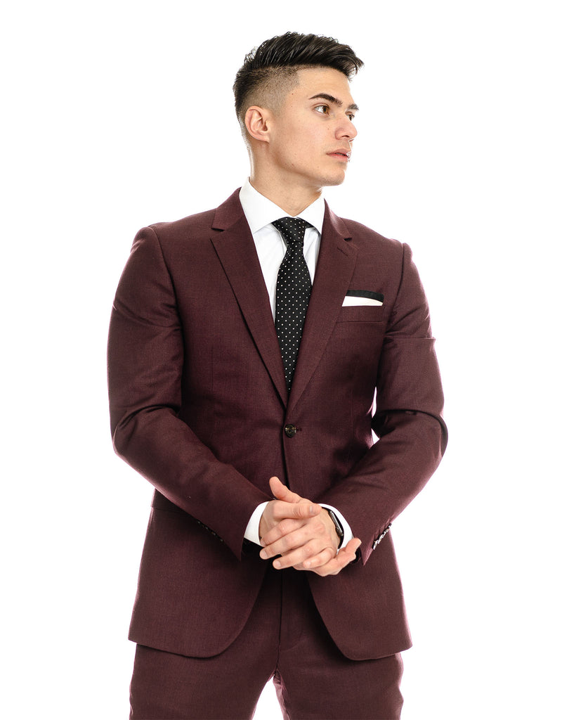 The Merlot Bedford Suit