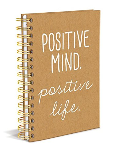 Positive Mind Positive Life Spiral Hardbound Journal