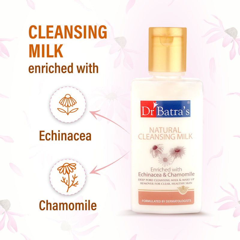 Dr Batra's Natural Cleansing Milk