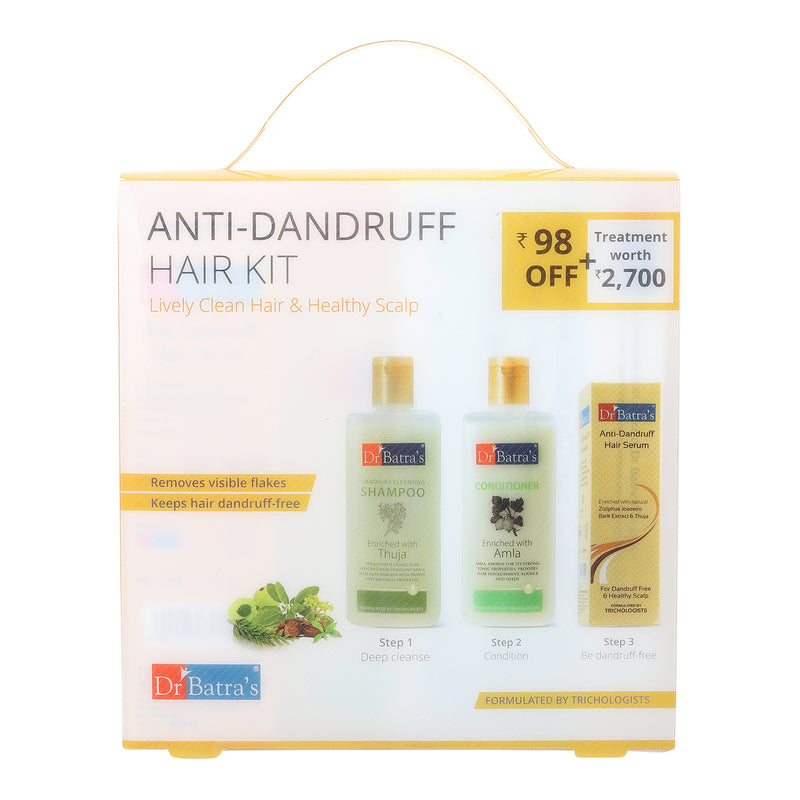 Dr. Batra`s Anti Dandruff Hair Kit