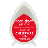 Card Deco Essentials - Pearlescent Pigment Ink - Christmas Red