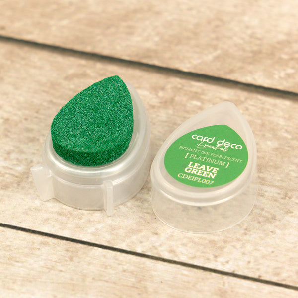 Card Deco Essentials - Pearlescent Pigment Ink - Leave Green