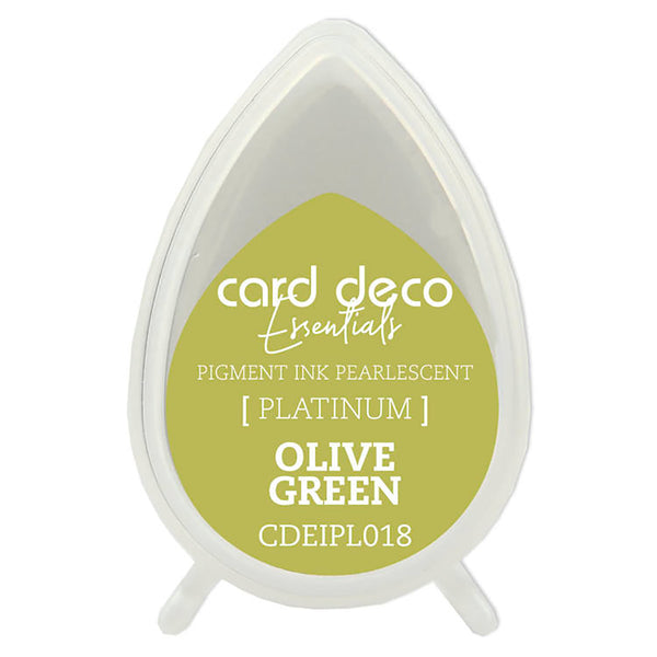Card Deco Essentials - Pearlescent Pigment Ink - Olive Green