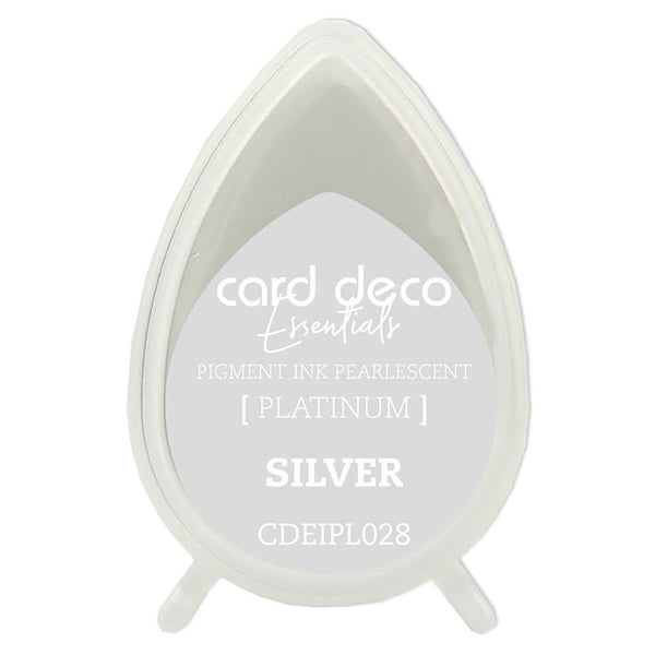 Card Deco Essentials - Pearlescent Pigment Ink - Silver
