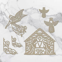 Couture Creations Chipboard - Away in a Manger
