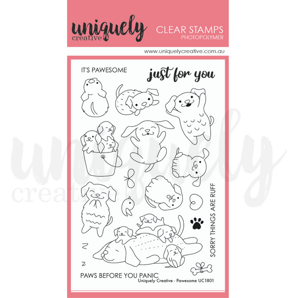 Uniquely Creative - Pawesome Stamps